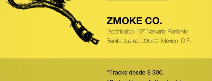 Zmoke Co ️ is one of Lugares favoritos de Ricardo.