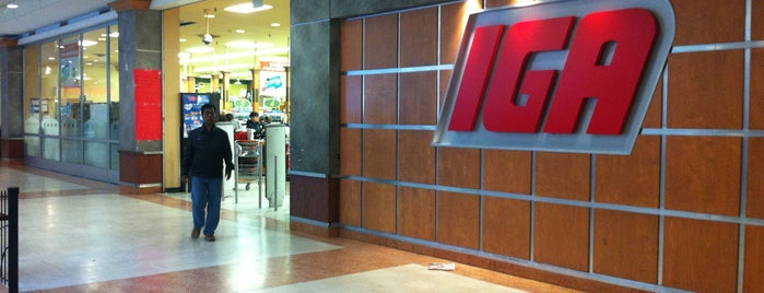 IGA is one of Montreal.