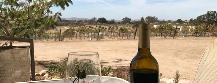Rio Seco Winery is one of Paso vineyards.