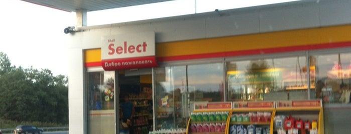 АЗС Shell Носово is one of Kaston : понравившиеся места.