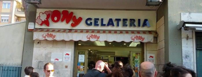 Tony is one of Gelato in Rome.