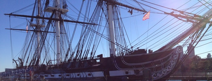 USS Constitution is one of They Came to Boston.