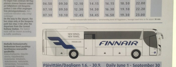 Finnair City Bus is one of Locais curtidos por Manuel.