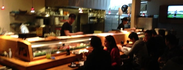 Kanpai Japanese Sushi Bar & Grill is one of Ramen & Sushi.