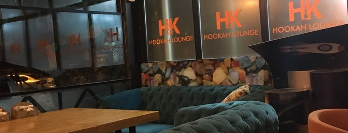H.K HOOKAh Lounge Cafe Bistro & Nargile is one of Baranoğlu cafe pastane restorant.