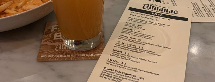 Almanac Tap Room is one of SF to Try.