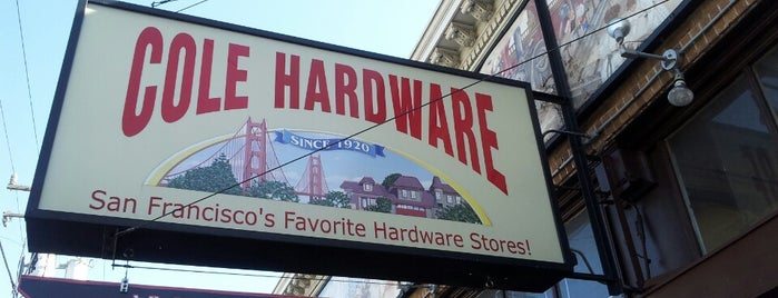 Cole Hardware is one of SF.
