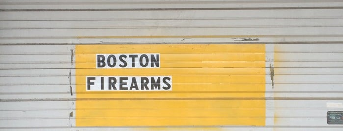 Boston Firearms is one of Lugares favoritos de Mike.