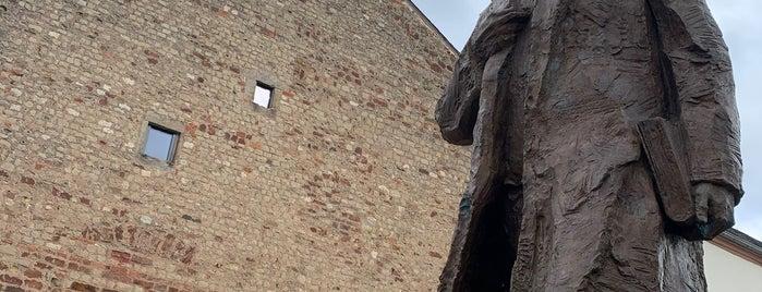 Karl Marx Statue is one of Around Rhineland-Palatinate.