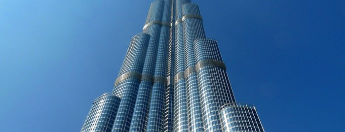 Burj Khalifa is one of DXB.