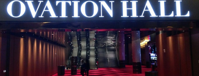 Ovation Hall is one of Zzz....