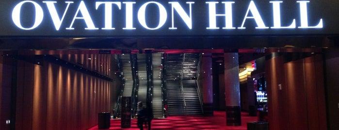 Ovation Hall is one of походы за бейджами.
