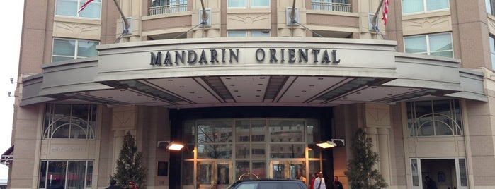 Mandarin Oriental, Washington DC is one of T+L's Definitive Guide to Washington D.C..