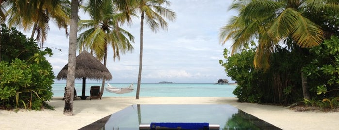 One & Only Reethi Rah is one of Beautiful places.
