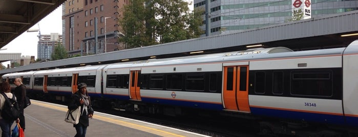 West Croydon London Overground Station is one of Транспорт.