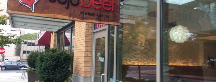 Jujubeet - Artisan Juice Bar is one of my vegan happy place(s).