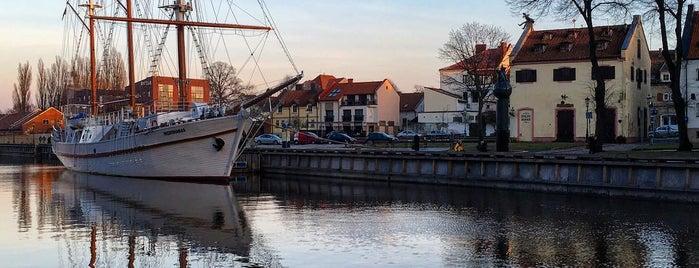 Meridianas Tall Ship is one of Klaipeda.