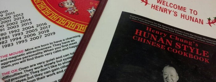 Henry's Hunan Restaurant is one of Bradley : понравившиеся места.