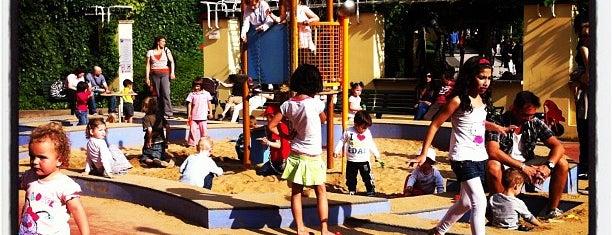 Dětské hřiště is one of Prague for kids.