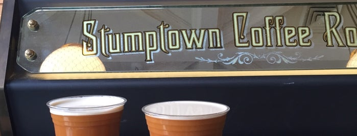 Stumptown Coffee Roasters is one of Java to Try.