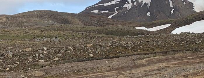 Snæfellsjökull is one of Iceland.