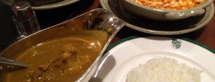 レストラン&カフェ Manna is one of TOKYO-TOYO-CURRY 4.