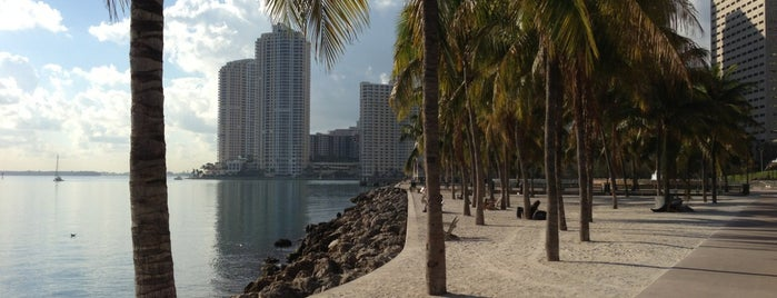 Bayfront Park is one of Miami.
