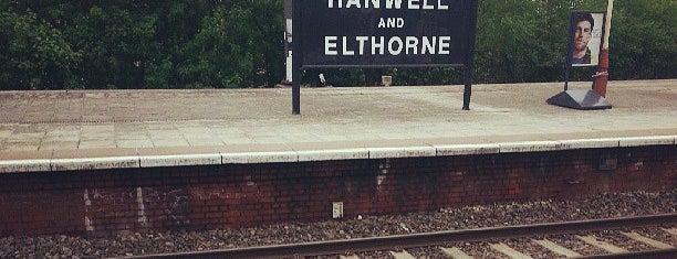 Hanwell Railway Station (HAN) is one of TFL Elizabeth Line Stations.