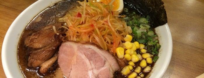 Nantsuttei Ramen is one of Eats: Singapore Ramen Hunt.
