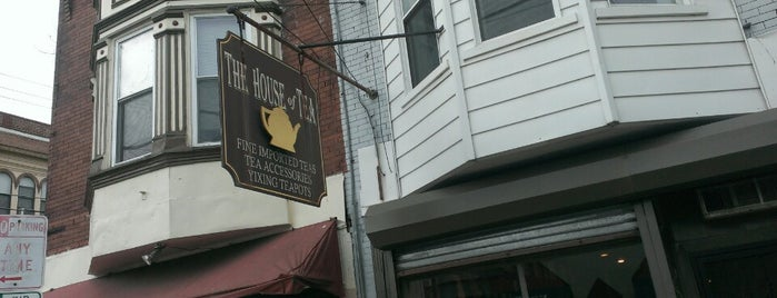 House of Tea is one of Philly coffee places.