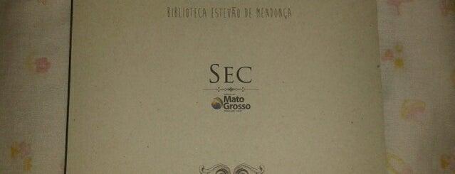 Biblioteca Estadual Estevão de Mendonça is one of Cuiaba MT.