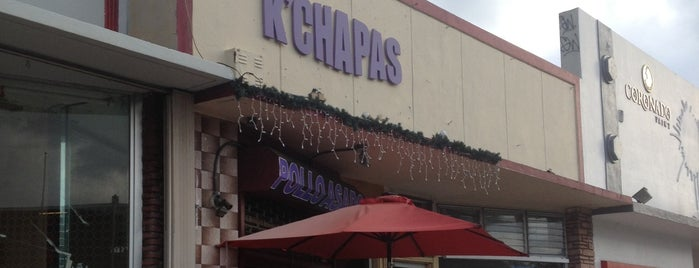 K'chapas is one of Venezuelan Restaurants.
