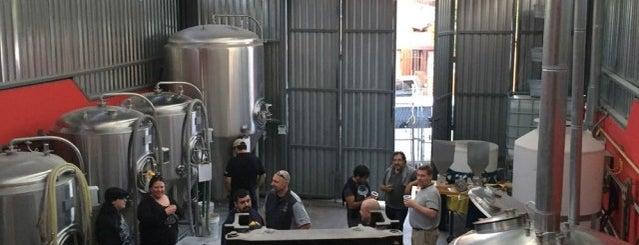 Aquí se hace Cerveza.