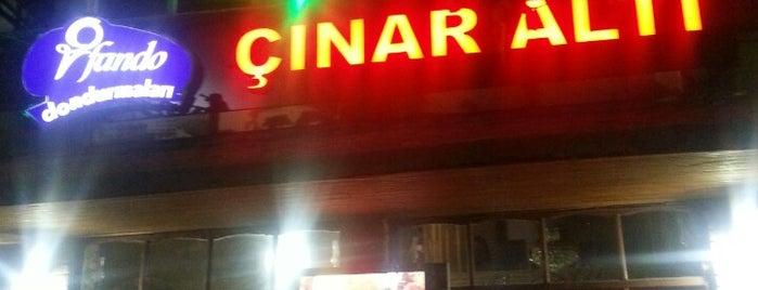 Çınaraltı Çay Evi is one of สถานที่ที่ Halil G. ถูกใจ.