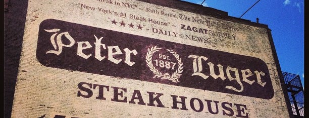 Peter Luger Steak House is one of NYC.