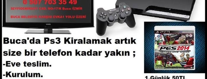Playstation Kiralama Noktasi is one of Posti salvati di Tttttt.