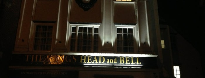 The Kings Head & Bell is one of Carl 님이 좋아한 장소.