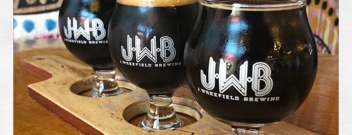 J Wakefield Brewing is one of Beer / Ratebeer's Top 100 Brewers [2019].