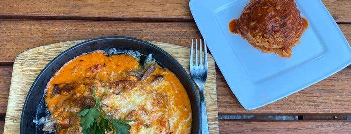 Asteria is one of Greek food.