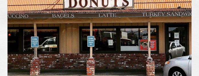 Original Ferrell's Donuts is one of HWY1: Santa Cruz to Monterey/Carmel.