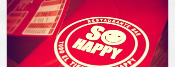 So Happy is one of FooD & Drink.