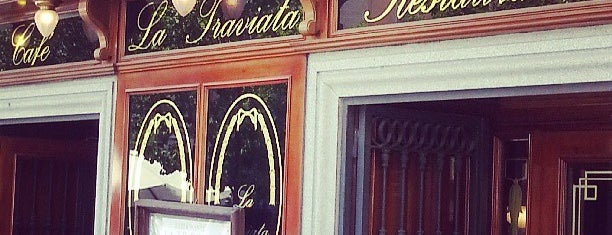 Cafe La Traviata is one of Madrid.