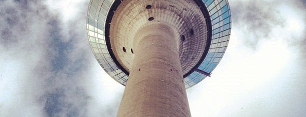 Rheinturm is one of DUS.