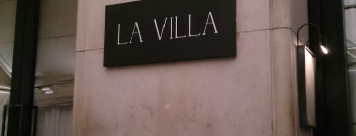 La Villa is one of Parisian.