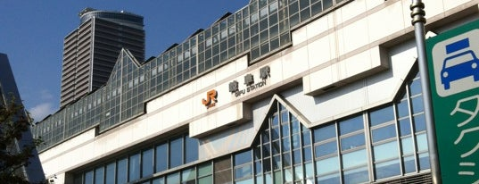 Gifu Station is one of 東海道本線.
