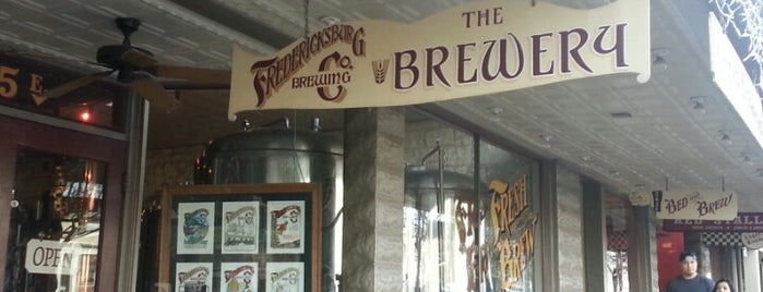Fredericksburg Brewing Company is one of BEST BARS - SOUTHWEST USA.
