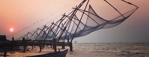 Chinese Fishing Nets is one of Estherさんの保存済みスポット.