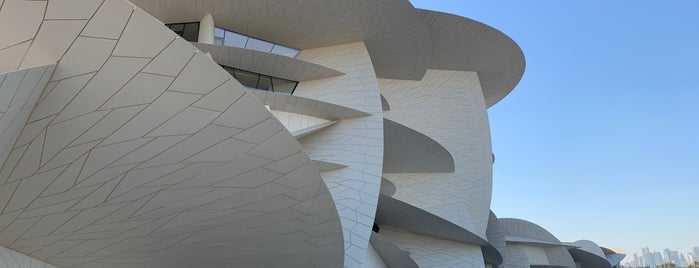 National Museum of Qatar is one of Qatar.