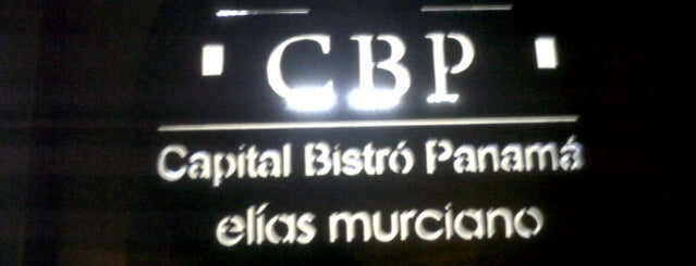 Capital Bistro Panamá is one of comer en panama.