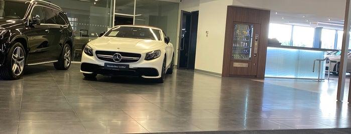 Mercedes-Benz Otomol is one of Tempat yang Disukai isi.